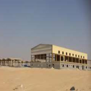 Contract #2/6/134 – Construction of Facilities for Land Forces Aviation Group – Helicopter Maintenance Hangar, Dammam - Ongoing Structural for Helicopter Shed